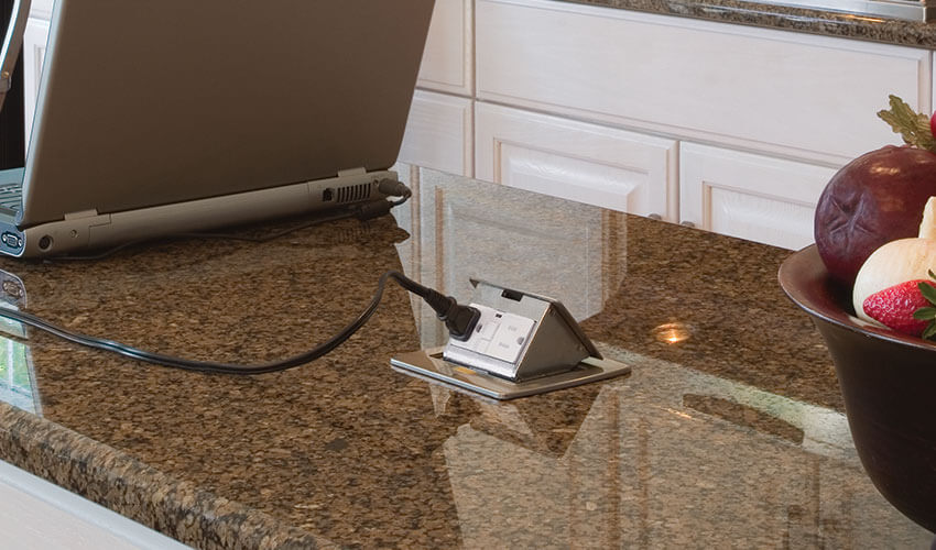 Kitchen Countertop Pop Up Outlet. Kitchen Countertop Electrical Boxes. Kitchen  Countertop Electrical Boxes
