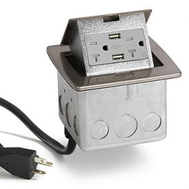 Lew Electric PUFP-CT-NS-20A-2USB-WC