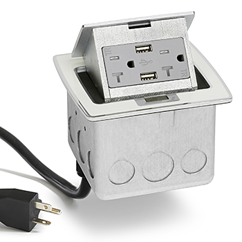 Lew Electric PUFP-CT-OW-20A-2USB-WC