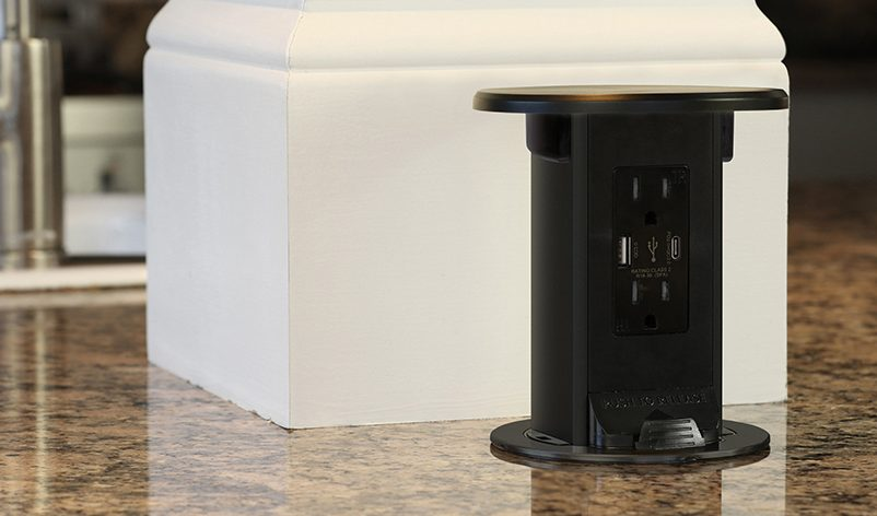 Kitchen Pop Up Outlets Lew Electric Fittings Company